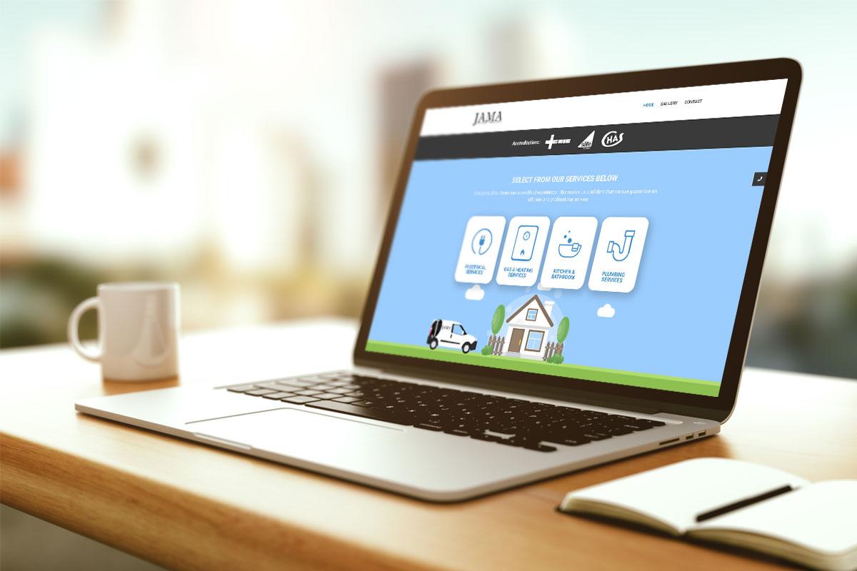 JPSUK Website Design