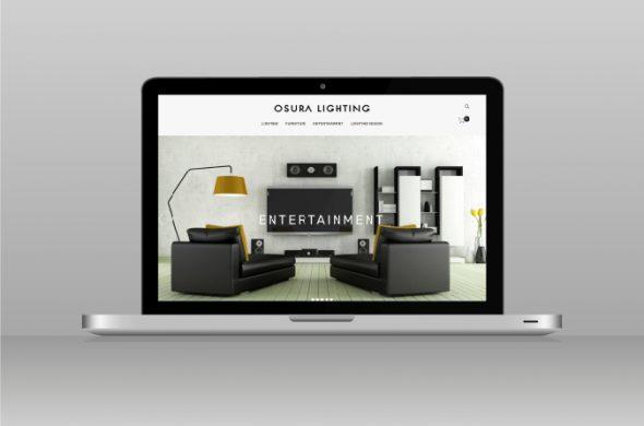 Osura Lighting Website Design